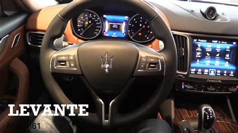 maserati levante interior 2017 maserati levante interior review youtube