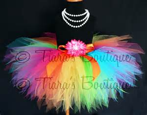 colorful tutus rainbow tutu custom sewn pixie tutu aura a magical