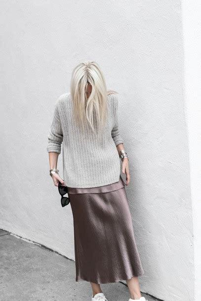strapped in silk tumblr tumblr strapped in silk sweater tumblr grey sweater dress