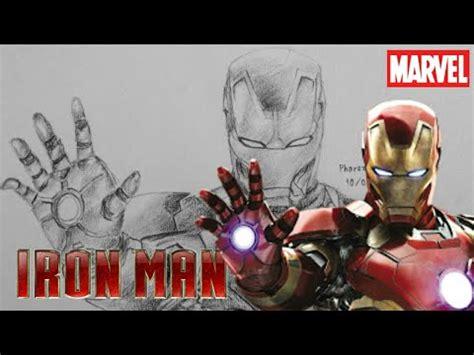 iron man speed drawing youtube