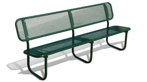 street furniture bench bench galvanized steel street furniture and garden iris