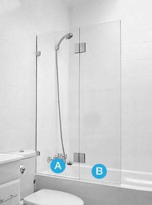 How To Fix A Shower Screen by Frameless Bath Shower Screen Fixed Swing Custom