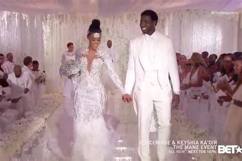 Keyshia Ka Oir Wedding Photos see lovely pictures from gucci mane and keyshia ka oir s