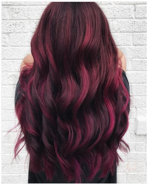 burgundy hair color formula mulled wine hair is even better than the beverage do it