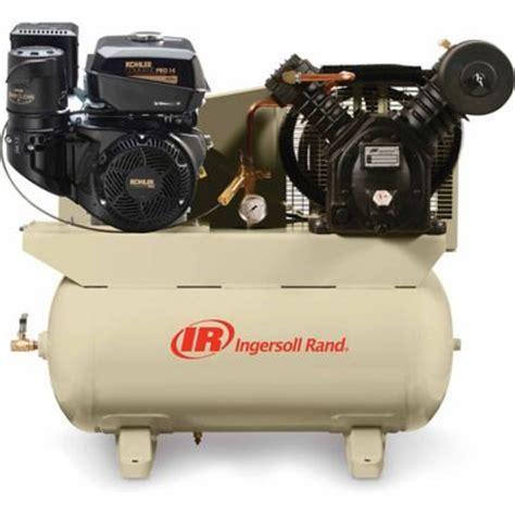 ingersoll rand 174 14 hp 30 gallon gas truck mount air compressor skimba