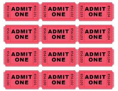 admit one ticket template search results for ticket template free printable