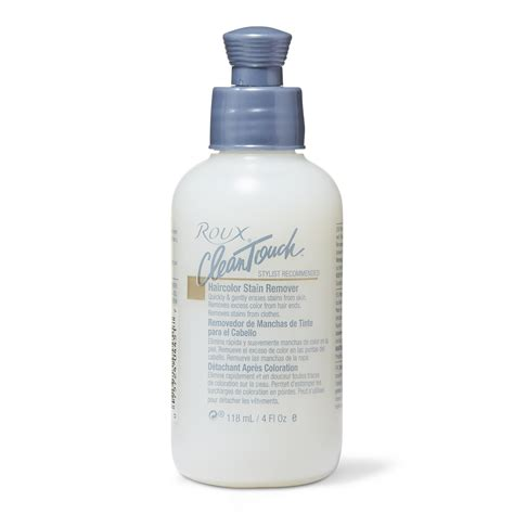 color remover sallys roux clean touch haircolor stain remover