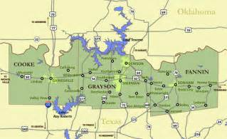 texoma map area maps texoma council of governments