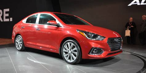 2018 Hyundai Accent debuts with new looks, roomier cabin