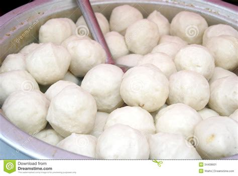 Would You Eat Fish Balls by Characteristics Snacks Meatballs Stock Image