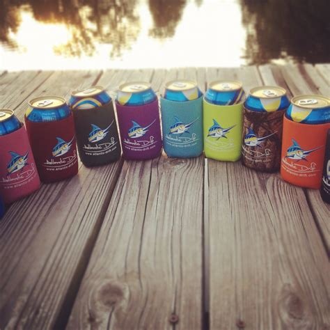 Handmade Koozies - 16 of the best custom printed koozie designs blue soda