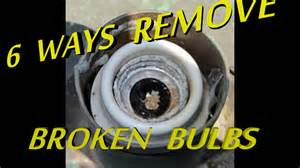 6 ways to remove broken light bulb from socket