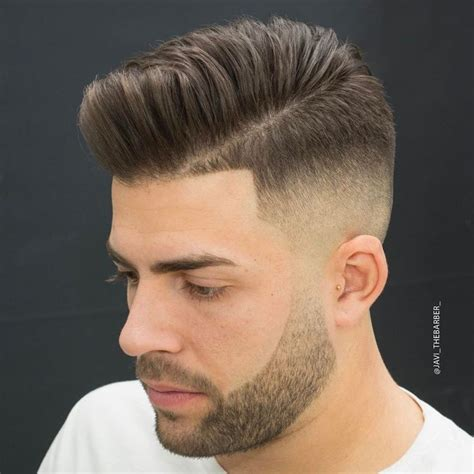 pompadour type hair styles 25 best ideas about fade haircut on pinterest boys fade