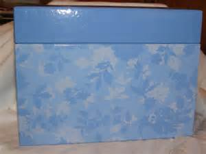 hallmark greeting card organizer box with dividers gently used
