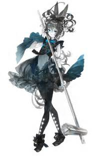Victorian Anime Girl Dark
