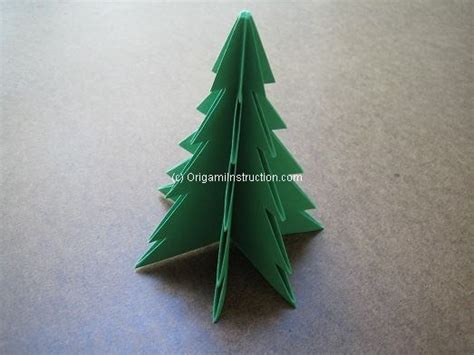 Origami instruction com origami christmas tree