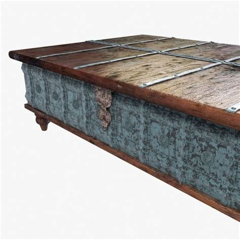 Distressed Trunk Coffee Table Distressed Trunk Coffee Table 3d Model Max Obj 3ds Fbx Mtl Cgtrader
