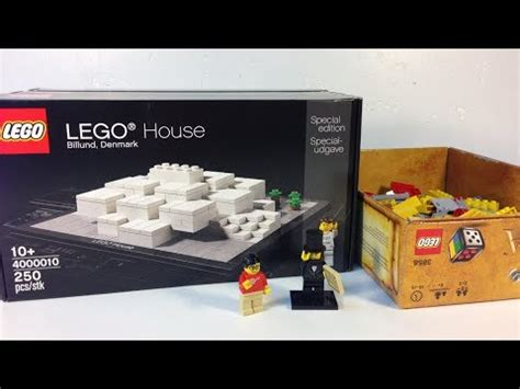 Dijamin Lego 4000010 Lego House Billund Denmark Special Edition lego haul 185 lego house from billund