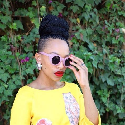 full braids with shaved sides 20 best box braids with shaved sides images on pinterest