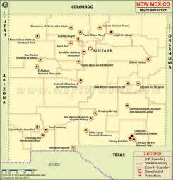 new mexico travel attractions map favorite places