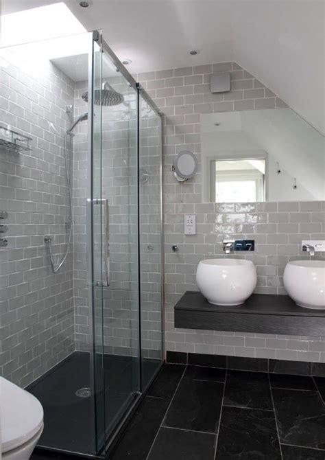 grey slate tile bathroom 40 grey slate bathroom floor tiles ideas and pictures