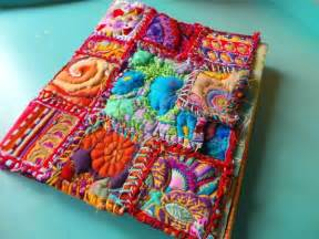 Patchwork Artists - 17 best images about fabric journals on fabric