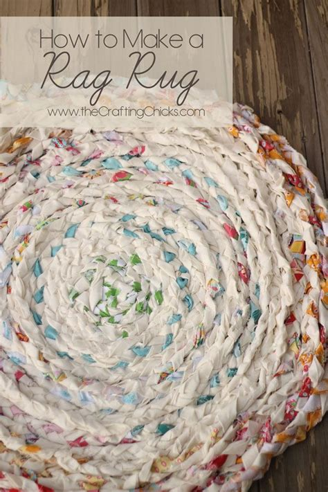 how to make a rag rug can you sew with me