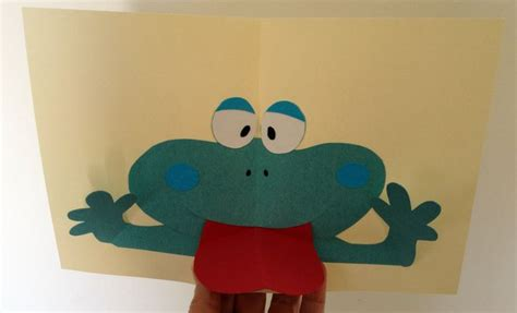 Frog Pop Up Card Template by 17 Best Images About Nana Cards On Creative