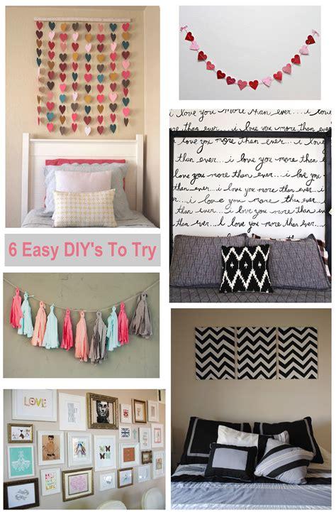 diy bedroom wall art ideas shopgirl