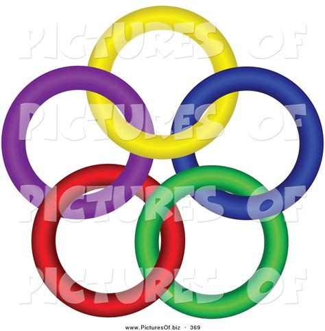 colorful rings royalty free unity stock designs