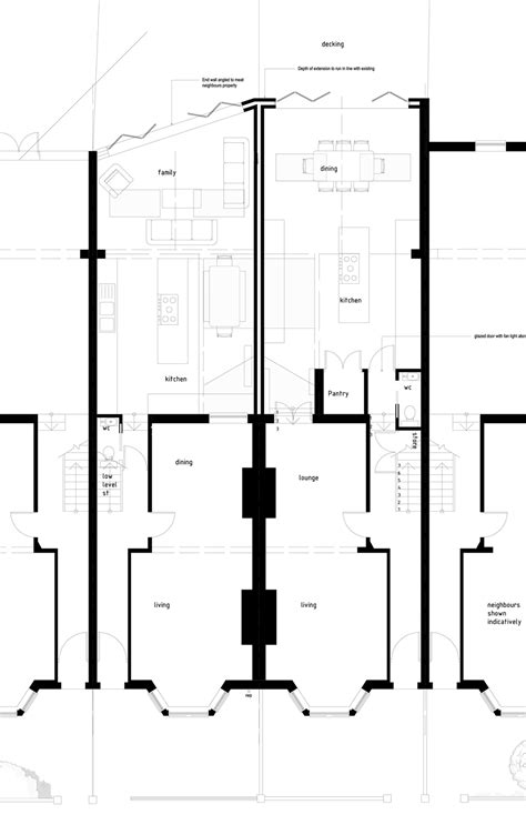 ground floor extension plans house extension balham mainwood architects