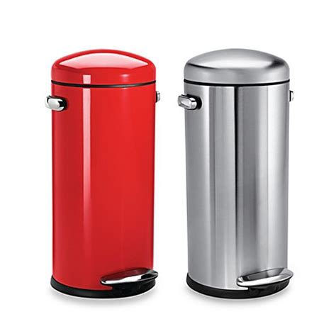 bed bath and beyond simplehuman trash can bed bath and beyond simplehuman trash can trash can astounding trash cans bed bath