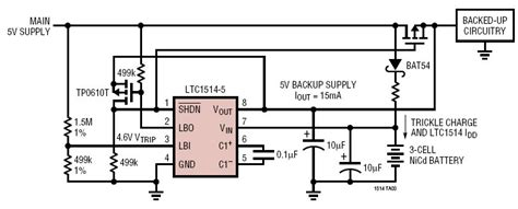 capacitor backup circuit solutions low power 5v battery backup supply with autoswitchover and no current