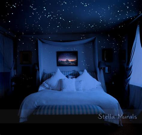 night stars bedroom l glow in the dark star stickers for night sky ceiling 400