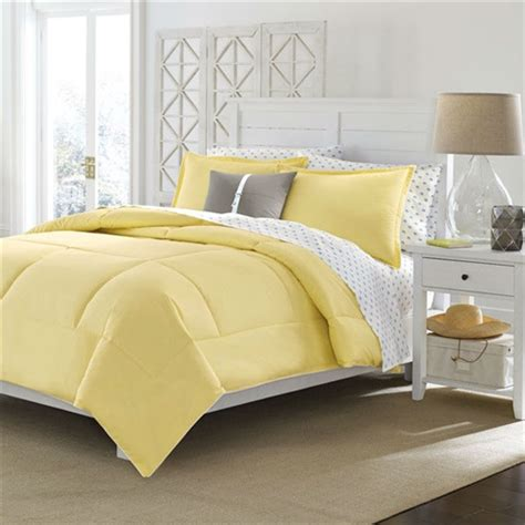 Solid Yellow Comforter by Size Cotton Comforter In Solid Yellow Machine