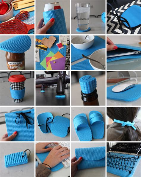 creative picture matting ideas 20 creative ways to repurpose old yoga mats repurpose
