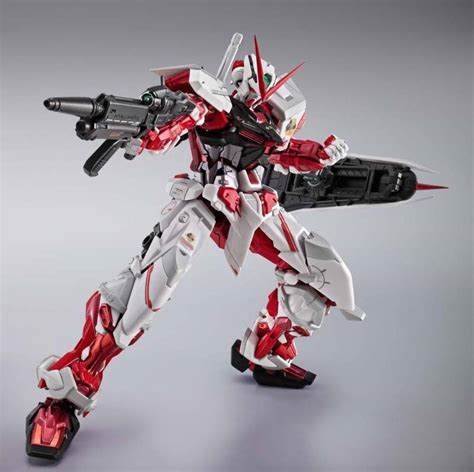 Metal Build Gundam Astray Frame Plus Flight Unit Bandai Built metal build gundam astray frame