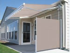Retractable Awning Hardware Privacy For A Patio Wind Break For A Deck Betterliving