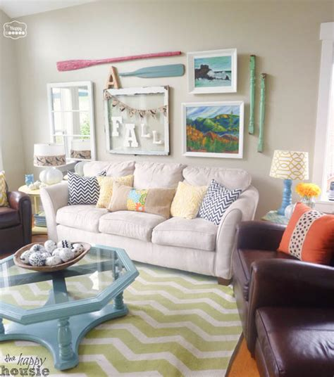 happy room tips fall ifying the living room the happy housie