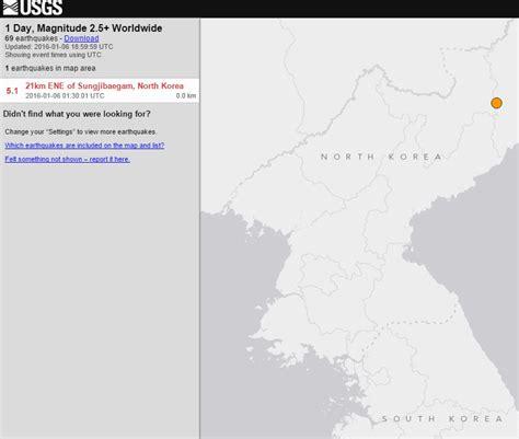 earthquake north korea north korea s got one too just to use on you know who