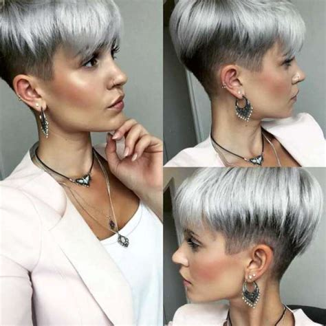 pelo gris corto 2016 short haircut colours 2016 3 fashion and women