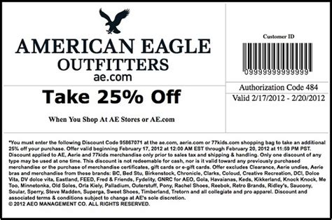 american eagle coupon code june 2016 coupon for shopping - American Eagle Gift Card Promo Code