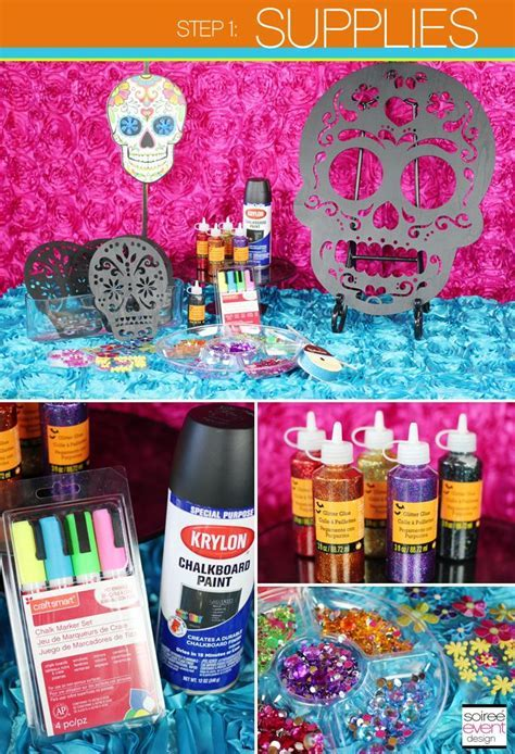 DIY: How to Make Day of the Dead Sugar Skull Party