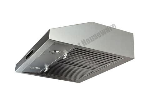 30 Wall Mount Stainless Steel Range Hood Dual Motor Fan