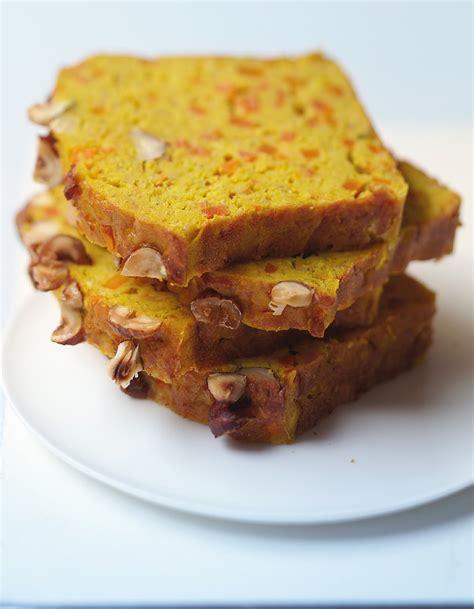 cake aux lentilles corail carottes et curry pour 8