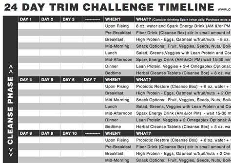 24 Day Detox Challenge by 50 Best Images On Ence Fitness