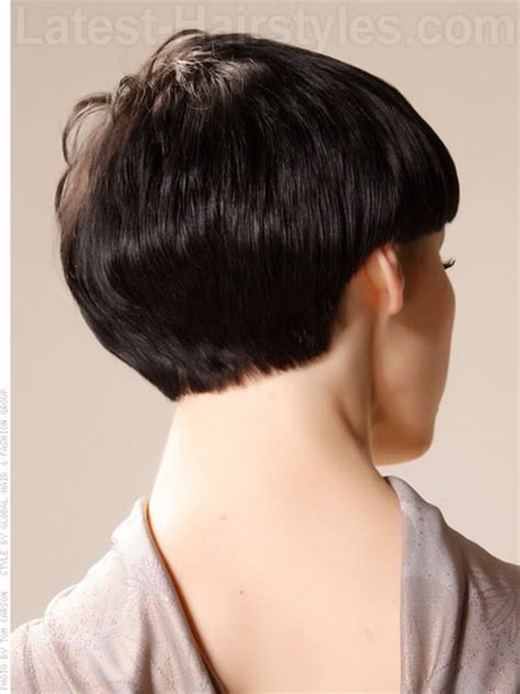 short haircuts showing pic of back of head pixie hairstyles pictures back of head
