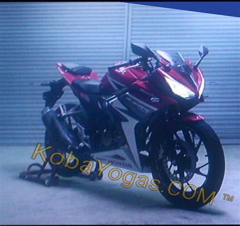 motorbike honda cbr leaked 2017 honda cbr sport bike pictures test track