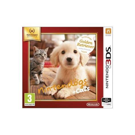 nintendogs golden retriever and friends nintendogs cats golden retriever new friends 3ds