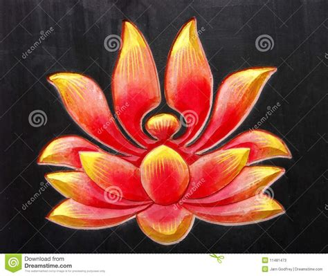 buddhist lotus design stock photos image 11481473